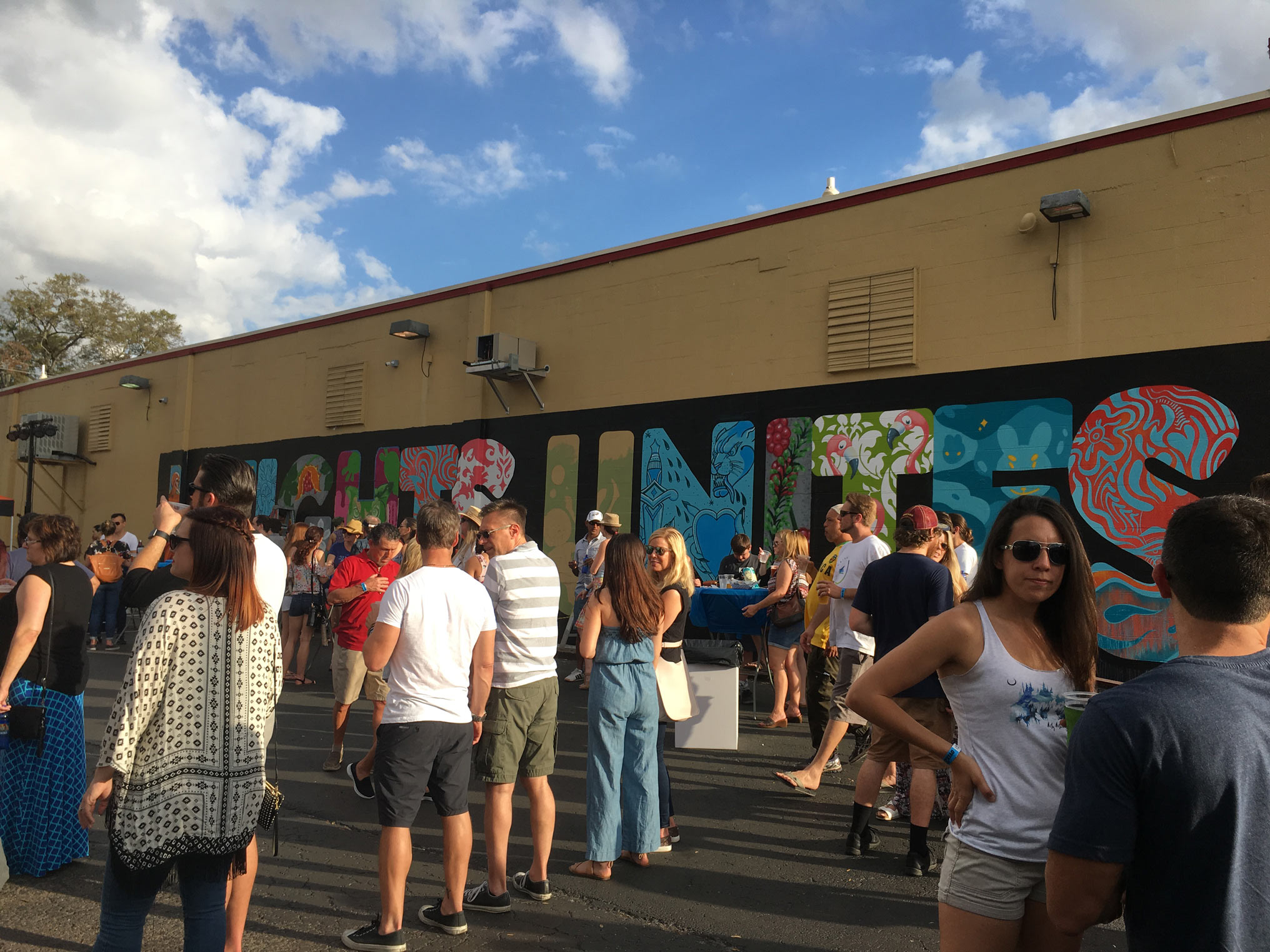 Heights Unites Mural - Brew Bus Brewing
